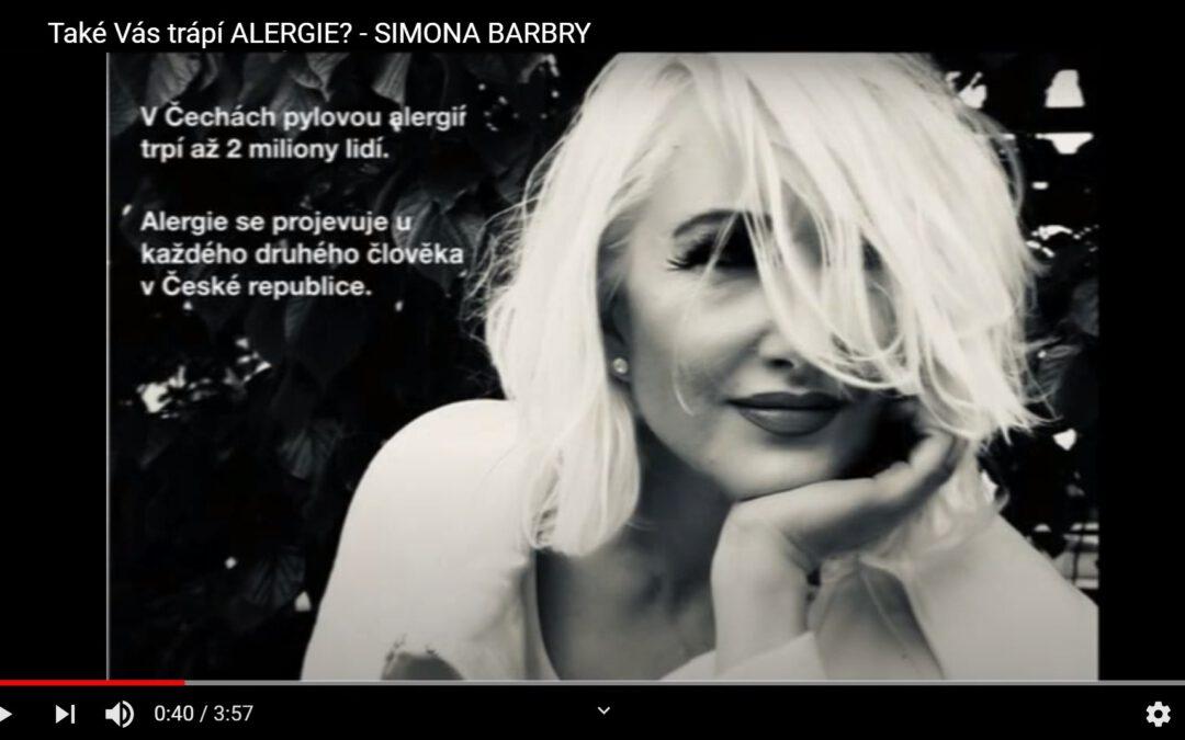 VIDEO: Také Vás trápí alergie? Zkušenost Simony Barbry