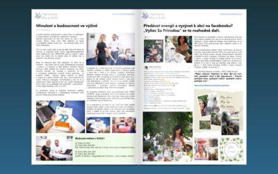 Tipy, akce a články nově také v magazínu, který si můžete vytisknout nebo přečíst online